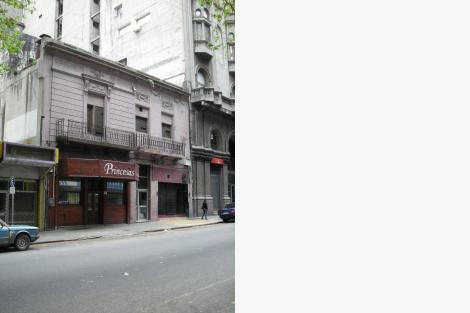 Fachada sobre la calle Andes