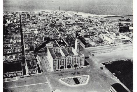 Vista sur de la Ciudad Vieja