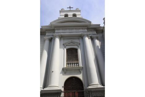Detalle fachada de la Capilla