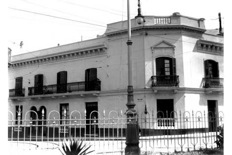 Construcción demolida anterior al año 1930.