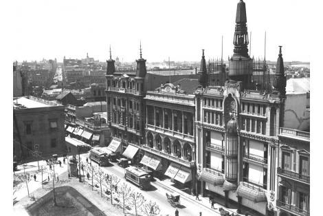 Vista desde el campanario de la Iglesia Matriz