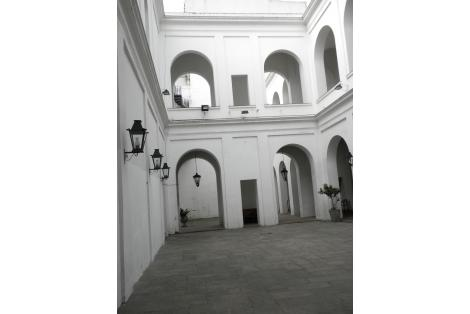 Interior - vista de los patios
