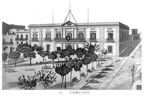 VIsta desde calle Sarandí