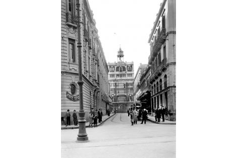 Vista desde calle Buenos Aires