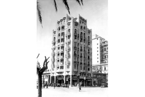 Vista desde la Plaza Independencia
