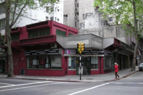 Esquina, calle San José y Andes