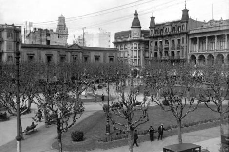 Plaza Constitución. CDF 5704