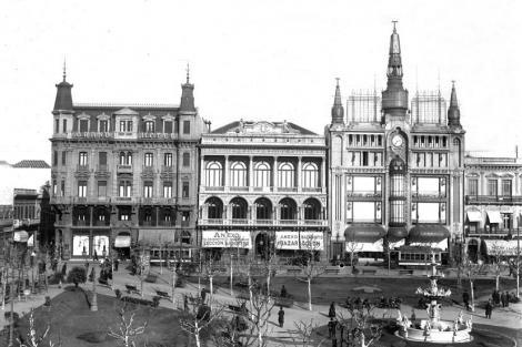 Vista hacia calle Sarandí. CDF _ lanata cluburuguay corralejo 1058