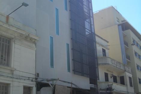 Fachada sobre la calle Bartolomé Mitre