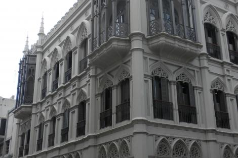 Fachada calle J. C. Gómez